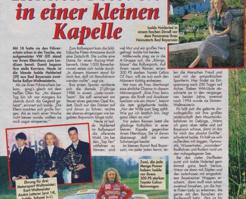 7 Tage - Magazin der Frau 1996 09