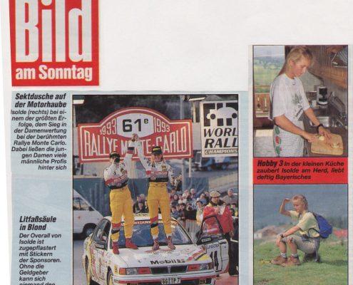 Bild am Sonntag 1994 03 13